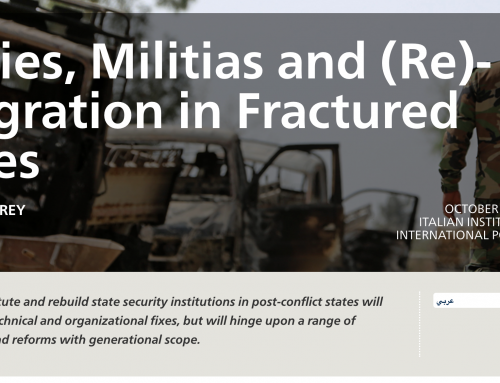 Carnegie MEC: Armies, Militias and (Re)-Integration in Fractured States