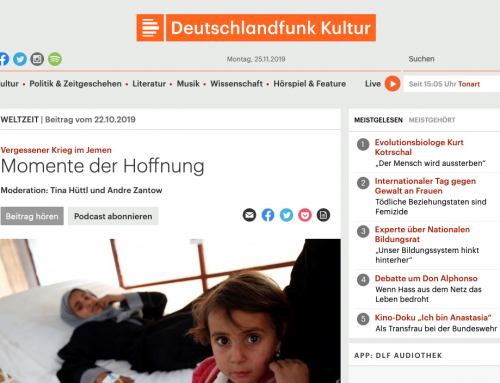 YPC Researcher Speaks on German Public Radio about Yemen's Fragmented State